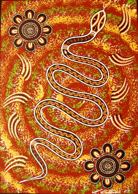aboriginal dreaming art